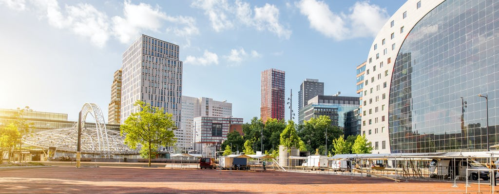 Rotterdam highlights 3-hour bicycle tour