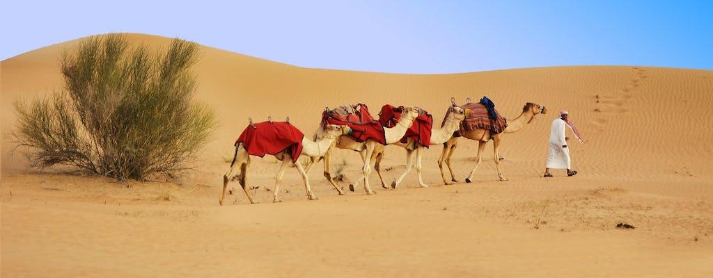 Safari di mezza giornata a Dubai, quad, sandboard e giro in cammello