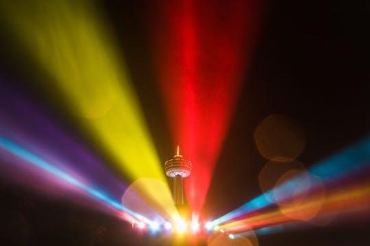 Noche en Niágara: tour privado seguro
