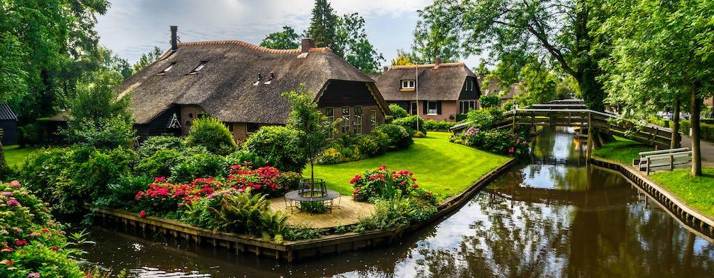Giethoorn i Północna Holandia prywatna wycieczka jednodniowa