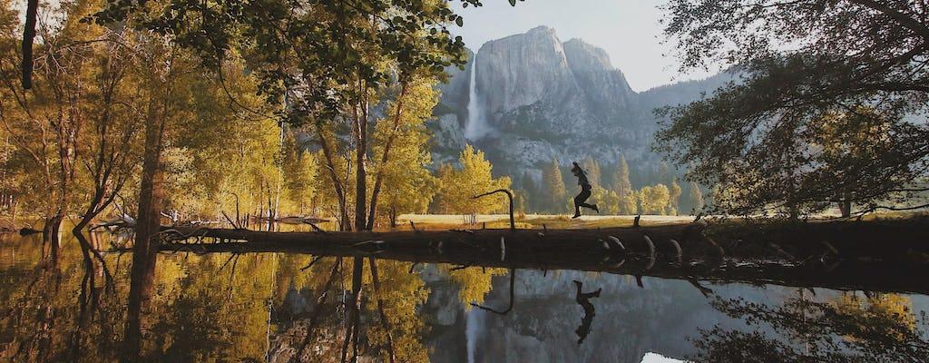 Tour nocturno de Yosemite que incluye la cabaña de la tienda Curry Village