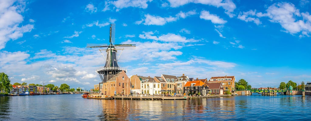 Private Haarlem city tour and canal cruise