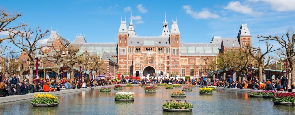 Excursão privado a pé em Amsterdã e visita ao Rijksmuseum