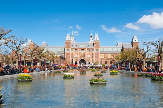 Private Amsterdam walking tour and Rijksmuseum visit