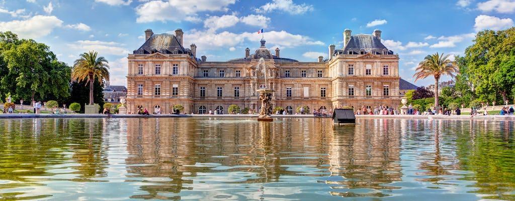 Tour a pie por el jardín de Luxemburgo