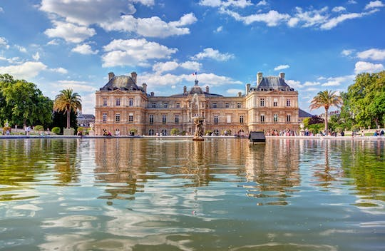 Luxembourg Garden walking tour