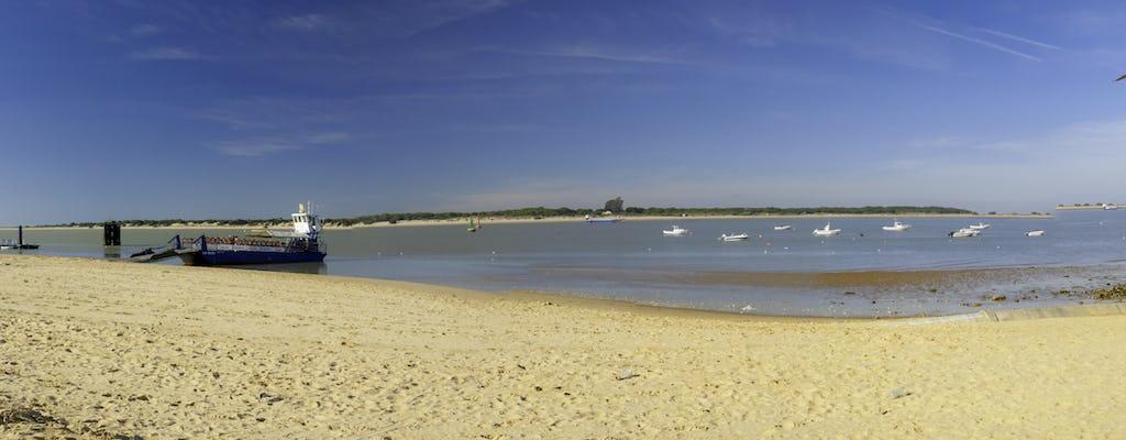 Ruta en paddlesurf sobre la desembocadura del Guadalquivir