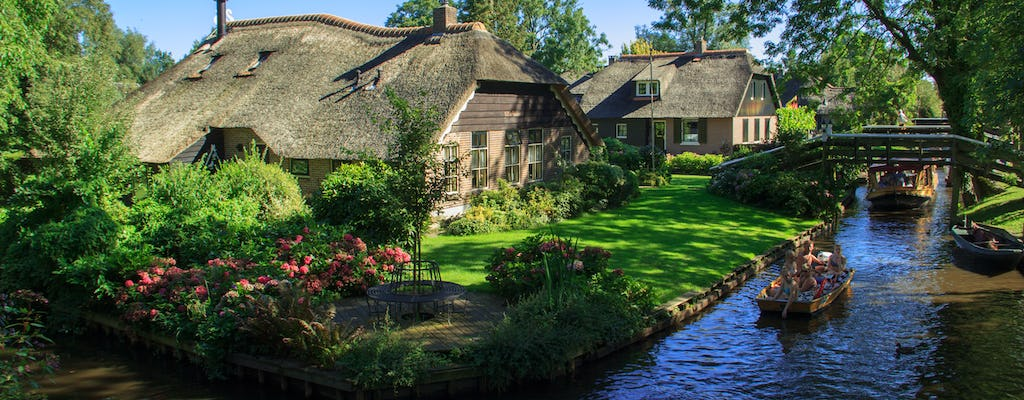Giethoorn and windmills private tour