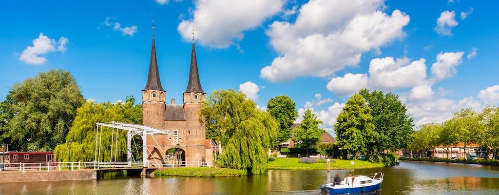 Excursión privada de un día a cuatro ciudades de Holanda
