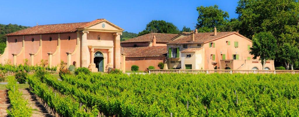 Private Provençal wine tour