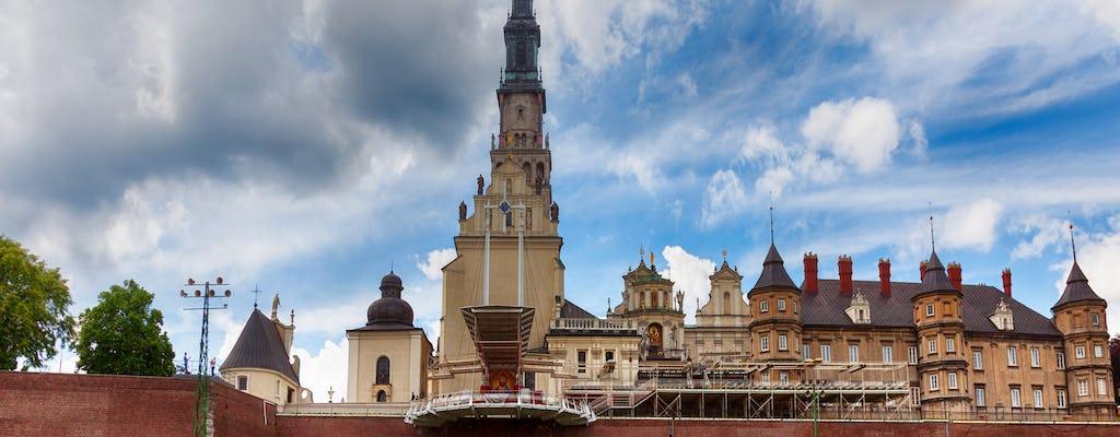 Madonna nera di Czestochowa e dimora di Giovanni Paolo II in un giorno