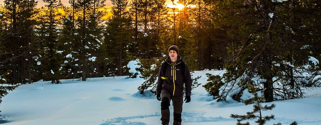 Head on a snowshoe adventure in the wilderness