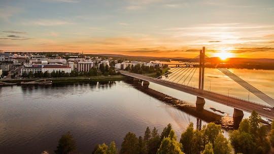 Fotografe o melhor de Rovaniemi no verão