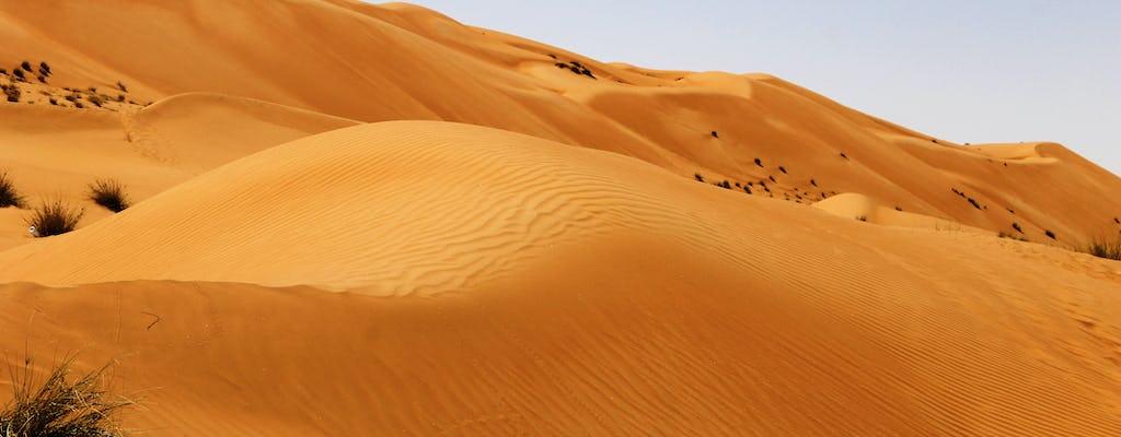 Excursión de día completo a las aguas termales y safari por las dunas del norte desde Muscat
