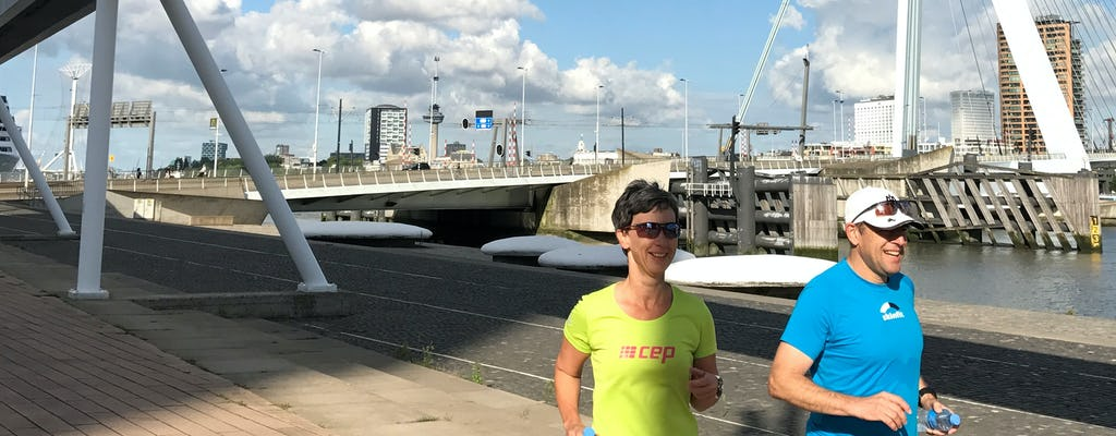 Private Early Bird Business Running tour in Rotterdam