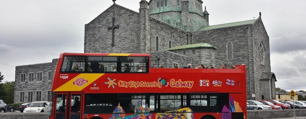 Hop-on Hop-off bus tour of Galway