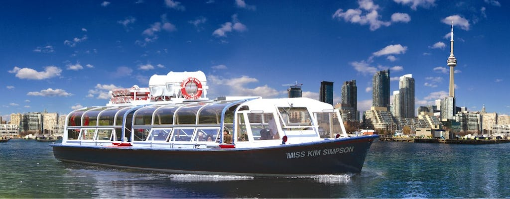 Toronto Harbour and Islands sightseeing cruise