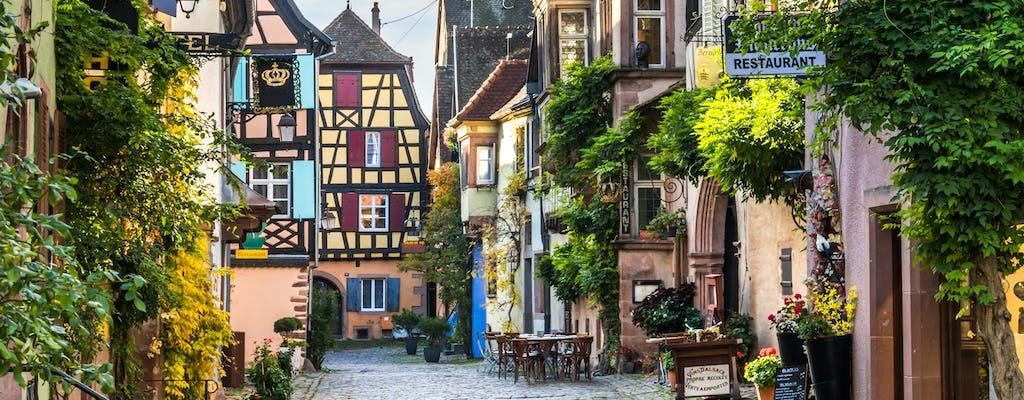 Visite privée de l'Alsace et dégustation de vins au départ de Colmar