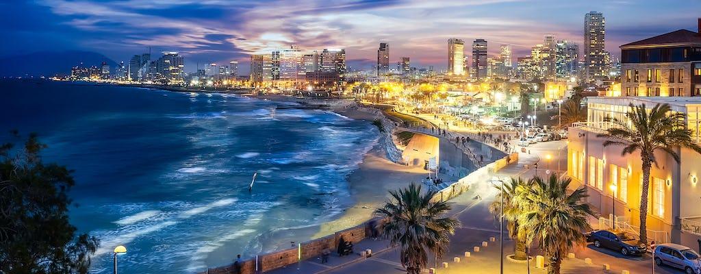 Pintar e pintar em Tel Aviv