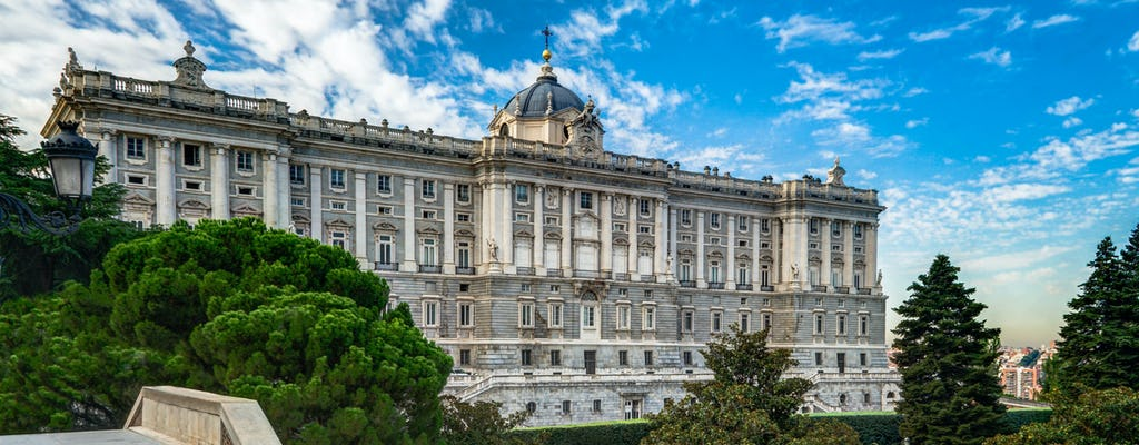 Royal Palace of Madrid skip-the-line tickets and guided tour
