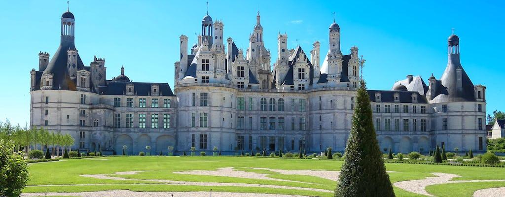 Transfert privé au château de Chambord depuis Paris