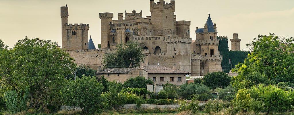 Excursion d'une demi-journée au palais royal d'Olite et au village médiéval d'Ujue au départ de Pampelune