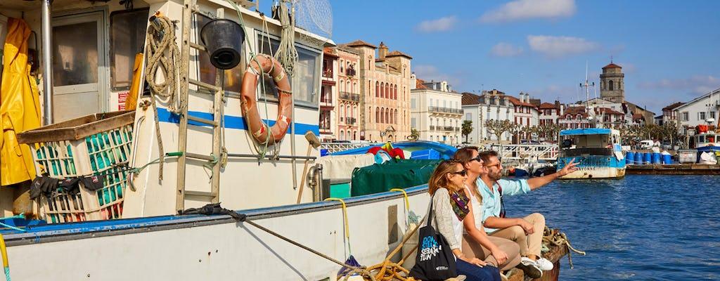 Tour di un'intera giornata a Biarritz e sulla costa basca francese da Pamplona