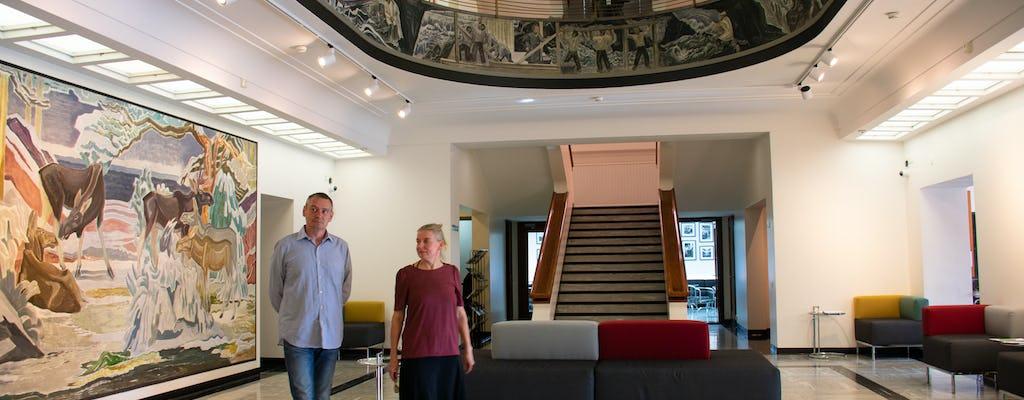 Enjoy an orientation tour at Serlachius museum Gustaf