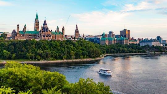 Scenic Ottawa night tour