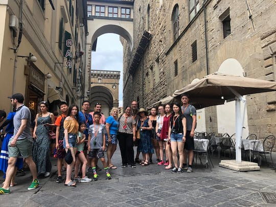 Private walking tour in Florence