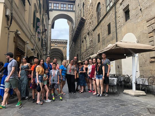 Tour privado a pie en Florencia