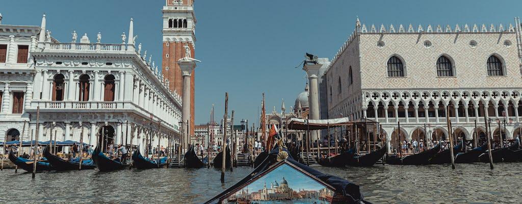 Danieli private Gondola ride
