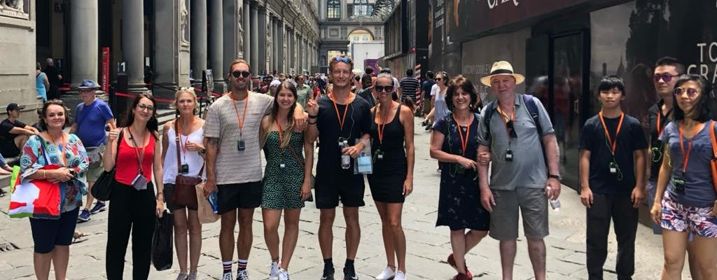 Semi-private walking tour in Florence