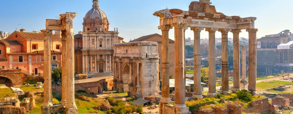 Coliseo Arena, Foro y Palatino tour guiado con entradas sin colas