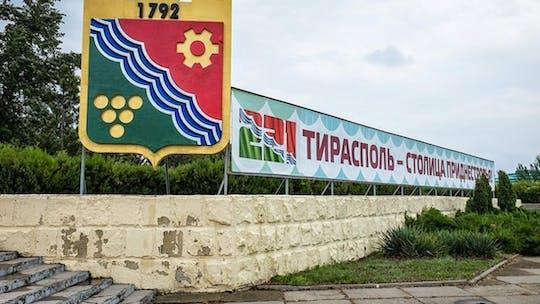 De volta à turnê da URSS pela Transnístria saindo de Chisinau