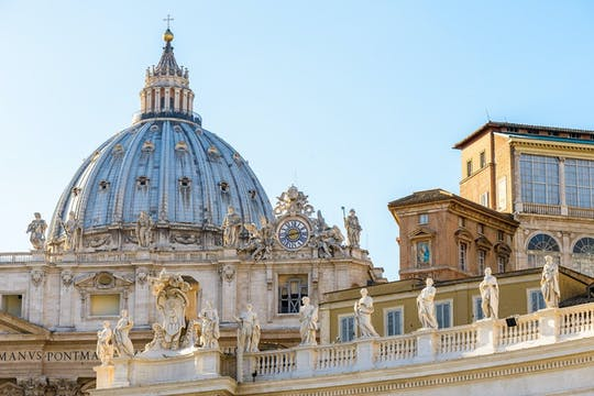 Museos Vaticanos, Capilla Sixtina y Basílica de San Pedro tour guiado con entrada prioritaria
