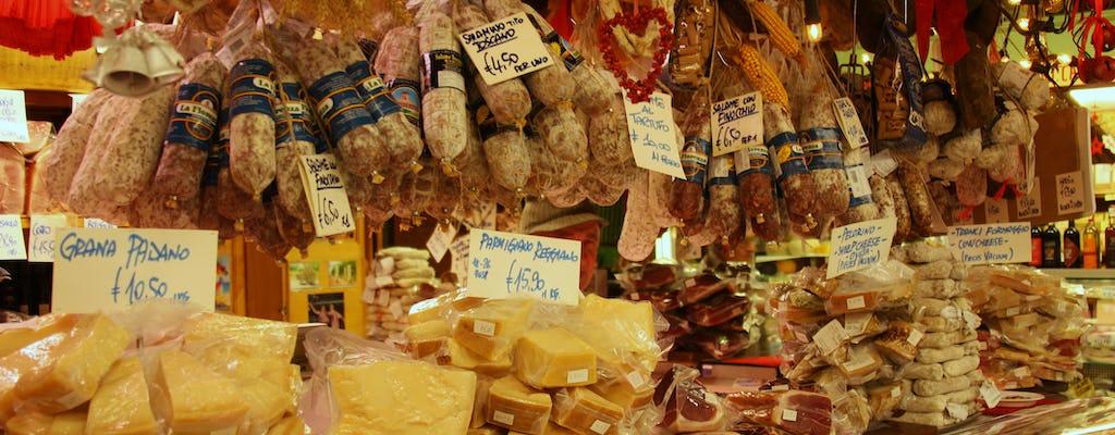 Tour gastronómico privado del mercado central de Florencia