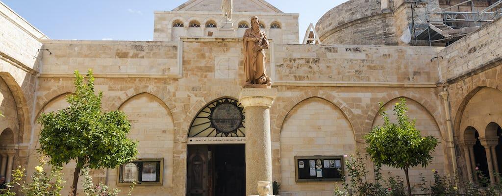 Excursión privada de un día a Jerusalén y Belén cristiano desde Tel Aviv