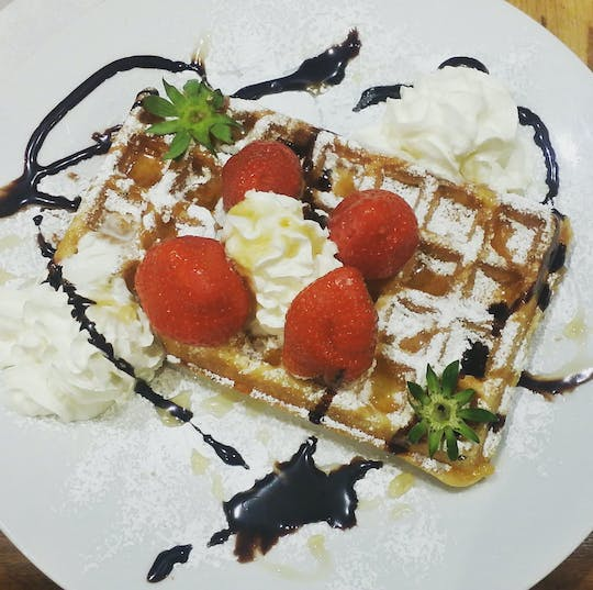Waffelworkshop in Brüssel