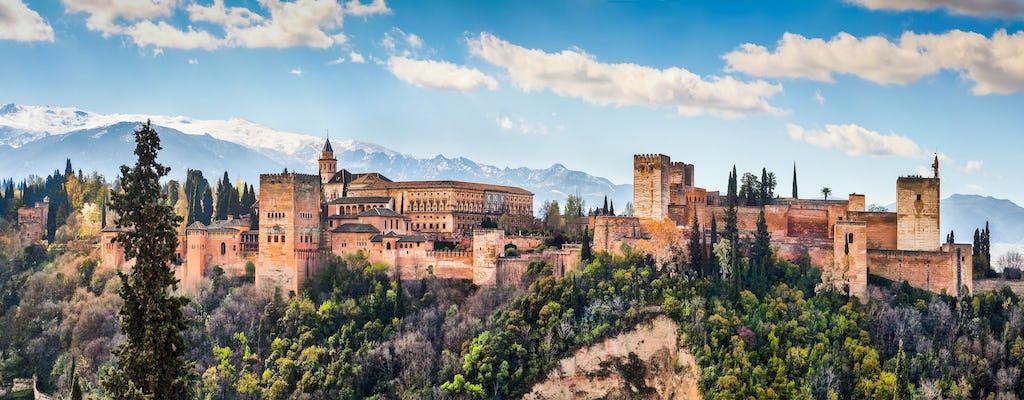 Visite virtuelle de l'Alhambra depuis chez vous