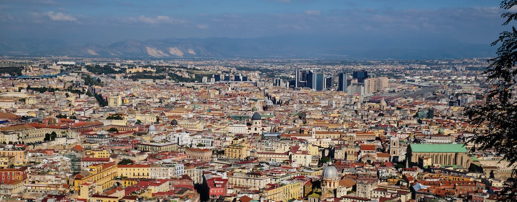 Origins and legends of Naples walking tour