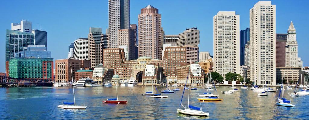 W obie strony do miasta Boston i wycieczka na zakupy