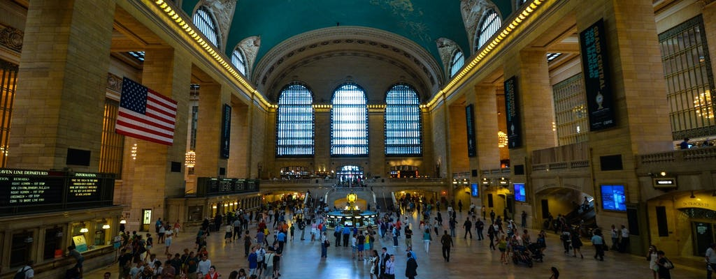 Wandeltocht door Grand Central Station, Rockefeller Center en Top of the Rock