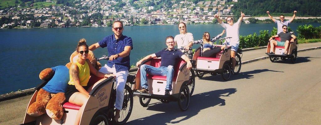 Tour cultural en bicicleta de carga eléctrica de Lucerna