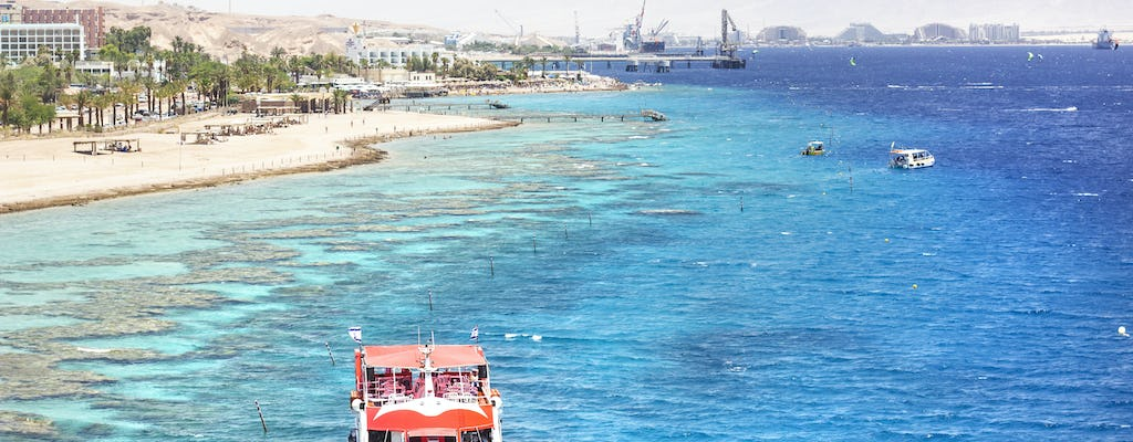 Two-hour glass-bottom boat tour in Eilat