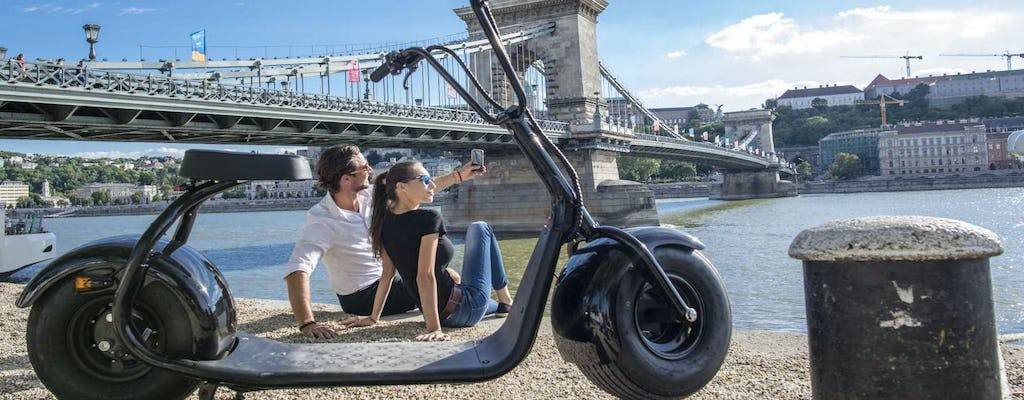 The complete all round tour on MonsteRoller of Budapest