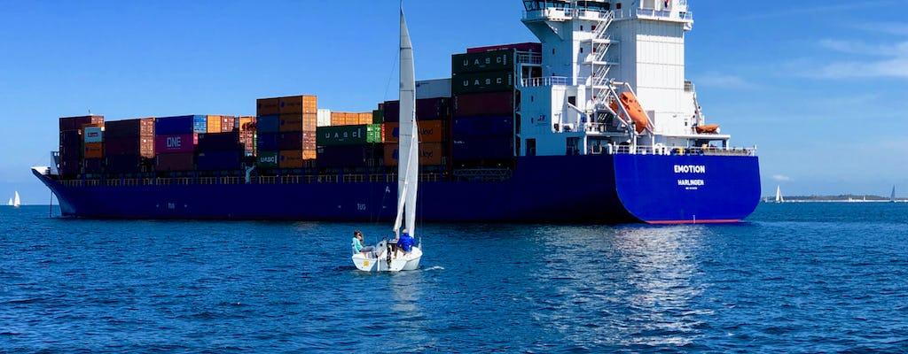 Fiordo Stella Maris navegando Kiel