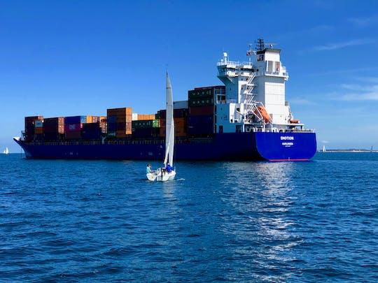 Stella Maris Fjord segelt Kiel