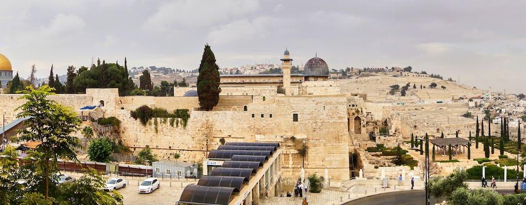 Jerusalén: tour de todo el día desde Jerusalén