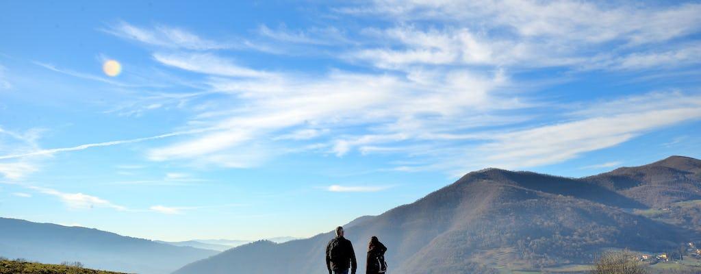 Caminhada e passeio pelo vinho de Chianti